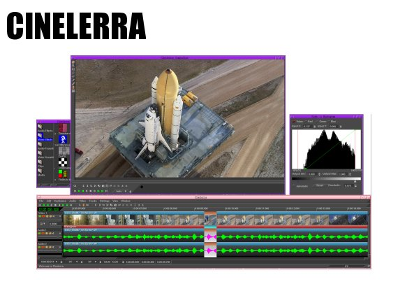 Cinelerra, logiciel de montage vidéo gratuit et Open Source