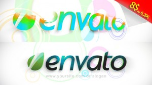 colorfull logo animation after effect