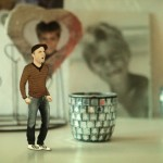 Clip de David Aym « Tel que je suis », animation 3D et compositing