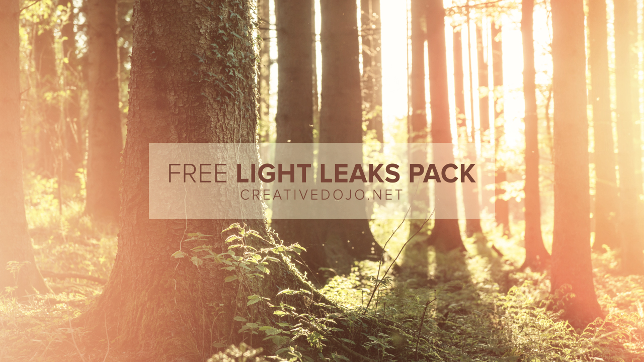 Light Leaks gratuits CreativeDojo
