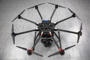 Prise de vue aérienne avec drone S1000 DJI