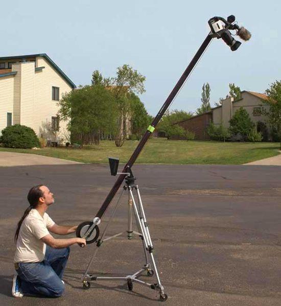 Grue pour caméra vidéo, photo de henryn
