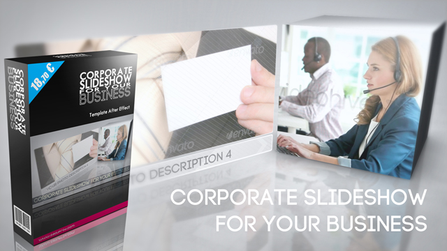 Corporate Slideshow For Your Business: nouveau template After Effect
