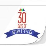 30 jours pour apprendre After Effect !