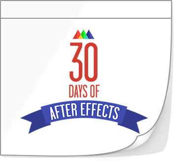 30 jours pour apprendre After Effect