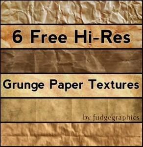 Texture de papier vieilli