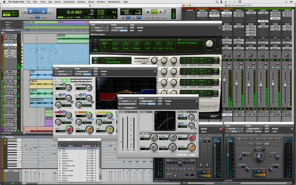 Interface de Protools