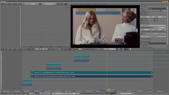 Le montage vidéo avec Blender Velvets