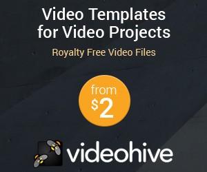 Videohive templates vidéos after effect