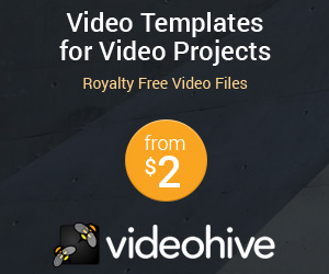 Videohive templates vidéos after effect