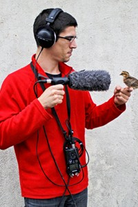 Joseph Sardin du site lasonotheque.org, en pleine action !