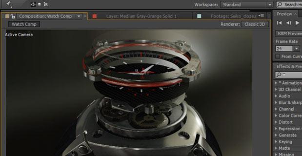 Importez vos objets 3D dans After Effect avec Element 3D