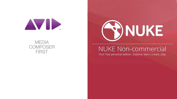Avid Media Composer et Nuke gratuits