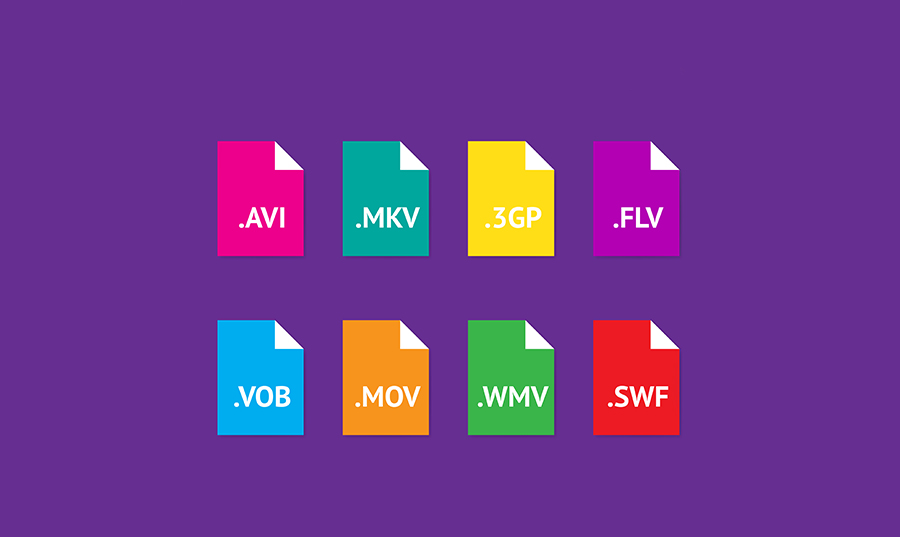 Différents formats d'exports vidéos