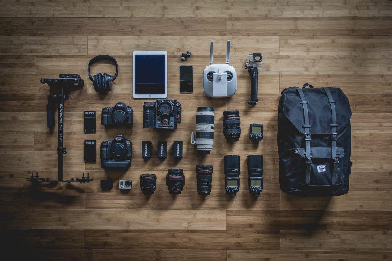 Checker son matériel de tournage