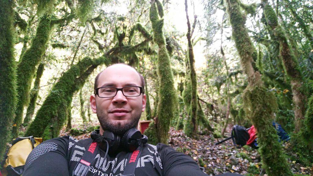 On a trouvé cette superbe forêt dans la mousse ! On y a filmé l'une de nos séquences.