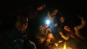 Une belle soirée autour du feu